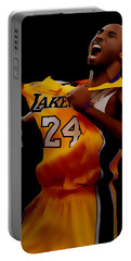 Kobe Bryant Sweet Victory Portable Battery Charger by Brian Reaves