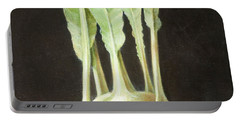 Kohl Rabi, 2012 Acrylic On Canvas Portable Battery Charger by Lincoln Seligman