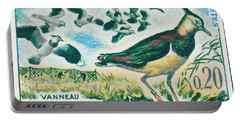 Lapwings Study Of Migration Museum Of Paris Portable Battery Charger by Lanjee Chee