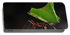 Leafcutter Ant Portable Battery Charger by Francesco Tomasinelli