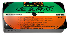 Led Zeppelin Iv Side 1 Portable Battery Charger by Marcello Cicchini