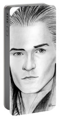 Legolas Greenleaf Portable Battery Charger by Kayleigh Semeniuk