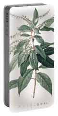 Lily Of The Valley Tree Portable Battery Charger by Pierre Joseph Redoute