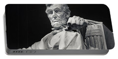 Lincoln Portable Battery Charger by Joan Carroll
