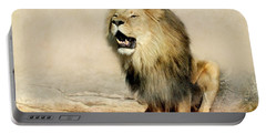 Lion Portable Battery Charger by Heike Hultsch