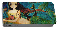 Little Mermaid Portable Battery Charger by Shijun Munns