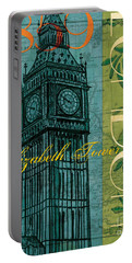 London 1859 Portable Battery Charger by Debbie DeWitt