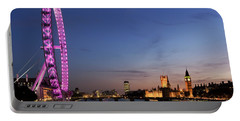 London Eye Portable Battery Charger by Rod McLean