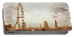 London Skyline At Dusk 01 Portable Battery Charger by Pixel  Chimp