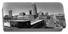 Looking Down On Nashville Portable Battery Charger by Dan Sproul