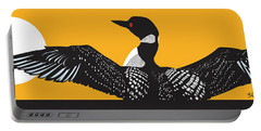 Loon Lake Portable Battery Charger by Derrick Higgins