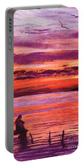 Lost In Wonder Portable Battery Charger by Jane Small