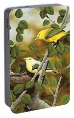 Love Nest Portable Battery Charger by Rick Bainbridge