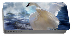 Love Swept Portable Battery Charger by Carol Cavalaris