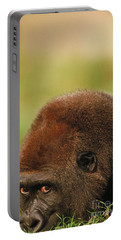Lowland Gorilla Portable Battery Charger by Mark Newman