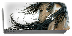 Majestic Horse Series 89 Portable Battery Charger by AmyLyn Bihrle