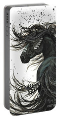 Majestic Spirit Horse 65 Portable Battery Charger by AmyLyn Bihrle