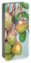 Mangoes Portable Battery Charger by Marionette Taboniar