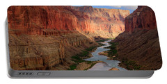 Marble Canyon Portable Battery Charger by Inge Johnsson