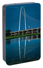 Margaret Hunt Hill Bridge Portable Battery Charger by George Buxbaum