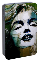 Marilyn No10 Portable Battery Charger by Paul Lovering