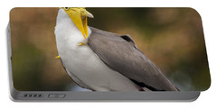 Masked Lapwing Portable Battery Charger by Carolyn Marshall