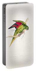 Matons Parakeet Portable Battery Charger by Edward Lear