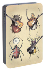Meet The Beetles Portable Battery Charger by Eric Fan