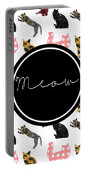 Meow Portable Battery Charger by Pati Photography