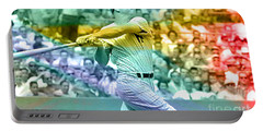 Mickey Mantle Portable Battery Charger by Marvin Blaine