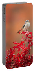 Mockingbird Autumn Portable Battery Charger by Bill Wakeley