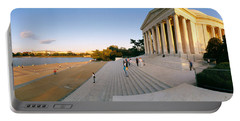 Monument At The Riverside, Jefferson Portable Battery Charger by Panoramic Images