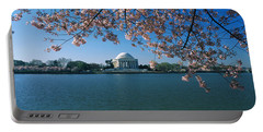 Monument At The Waterfront, Jefferson Portable Battery Charger by Panoramic Images