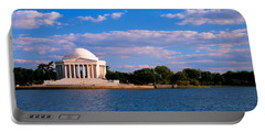 Monument On The Waterfront, Jefferson Portable Battery Charger by Panoramic Images