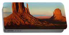 Monument Valley 2 Portable Battery Charger by Ayse Deniz