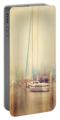 Morning Sail Portable Battery Charger by Amy Weiss