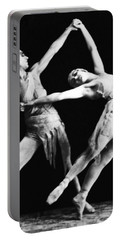 Moscow Opera Ballet Dancers Portable Battery Charger by Underwood Archives