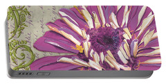 Moulin Floral 2 Portable Battery Charger by Debbie DeWitt