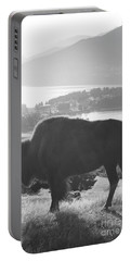 Mountain Wildlife Portable Battery Charger by Pixel  Chimp