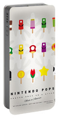 My Mario Ice Pop - Univers Portable Battery Charger by Chungkong Art