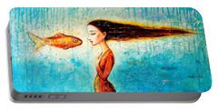 Mystic Mermaid II Portable Battery Charger by Shijun Munns