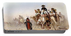 Napoleon And His General Staff Portable Battery Charger by Jean Leon Gerome