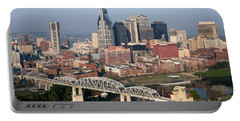 Nashville Skyline Portable Battery Charger by Bill Cobb