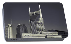 Nashville Tennessee Batman Building Portable Battery Charger by Dan Sproul