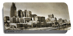 Nashville Tennessee Portable Battery Charger by Dan Sproul