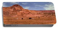 Navajo Nation Series Along Arizona Highways Portable Battery Charger by Bob and Nadine Johnston