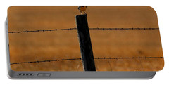 Nebraska's Bird Portable Battery Charger by Elizabeth Winter