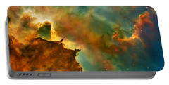 Nebula Cloud Portable Battery Charger by Jennifer Rondinelli Reilly - Fine Art Photography
