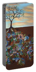 Neither Praise Nor Disgrace Portable Battery Charger by James W Johnson