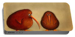 New Arrival. Kiwi Bird - Sweet As - Boy Portable Battery Charger by Marlene Watson